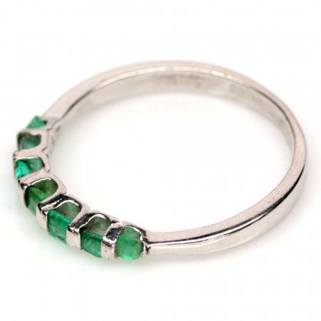 Inel argint smarald [1]
