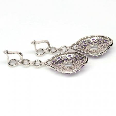 Cercei argint ametist [1]