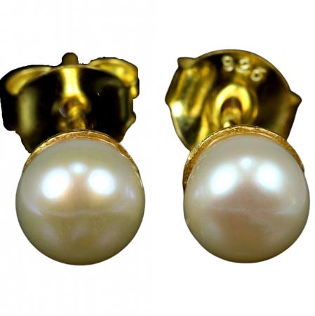 Cercei argint perle [0]
