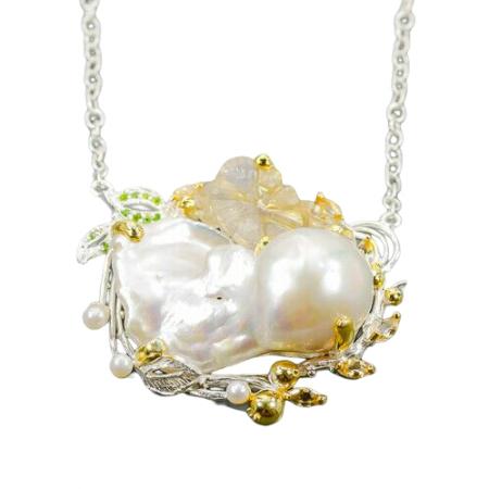 Colier perla baroca [0]