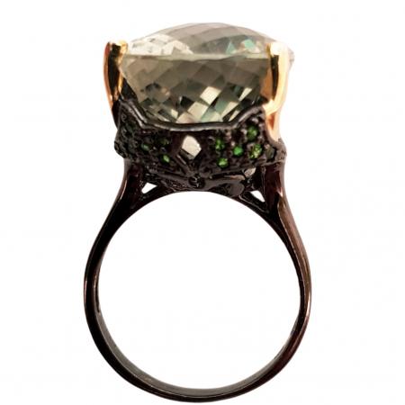 Inel argint ametist verde [1]