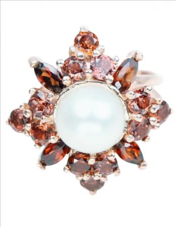 Inel argint cu perla naturala [0]