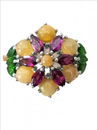 Inel Argint cu pietre semipretioase opal [1]