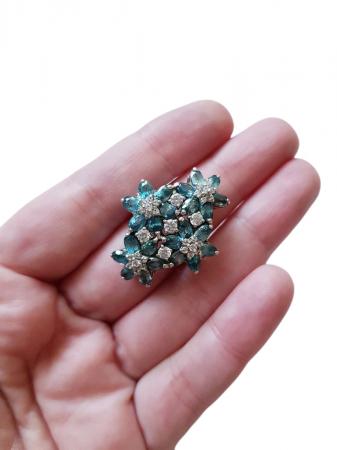Inel argint cu zircon natural [1]