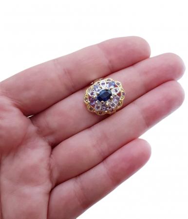 Inel argint kyanite [2]