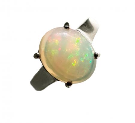 Inel argint opal [0]