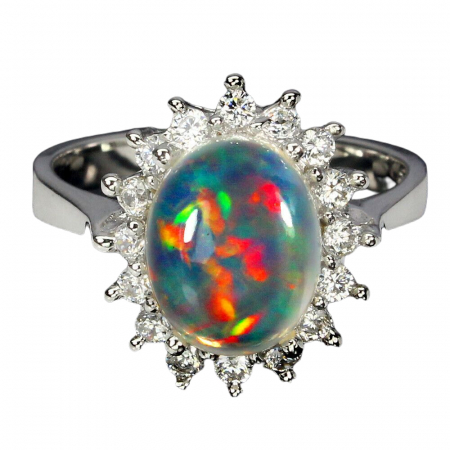 Inel argint opal [1]