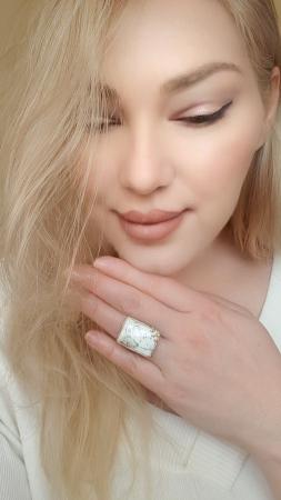 Inel argint opal dentritic [1]