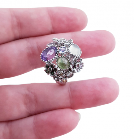 Inel argint pietre semipretioase [2]