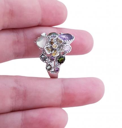 Inel argint pietre semipretioase [3]