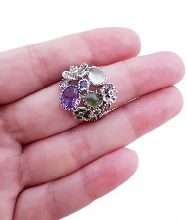 Inel argint pietre semipretioase [4]