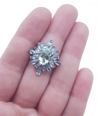 Inel argint tanzanit [2]