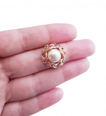 Inel argint perla naturala [3]
