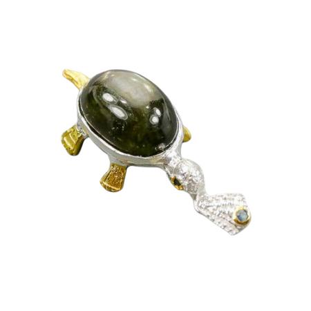 Pandantiv argint safir [1]
