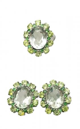 Set Argint ametist verde [1]