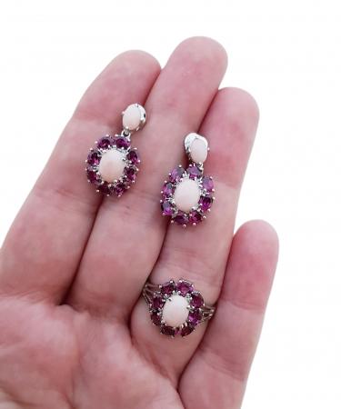 Set argint opal roz [1]