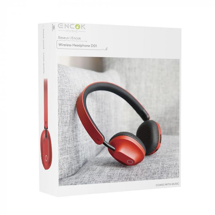 Casti audio bluetooth Baseus Encok D01 [3]