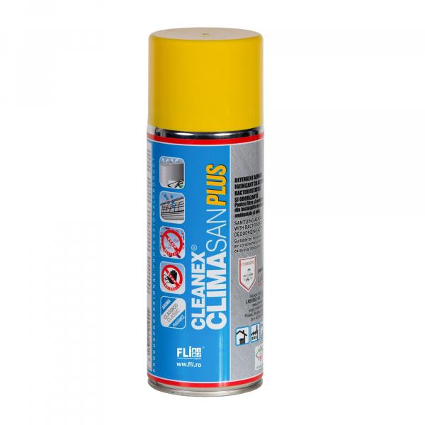 Climasan Plus Spray dezinfectant pentru aer conditionat si clima auto , 400 ml 0