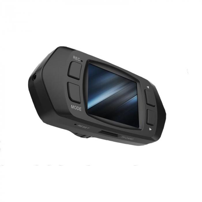 "Camera Video Auto Dubla, Obiectiv 120° Superangular FullHD 1080p Techstar® RLDV 204, Ecran 2"" 3"