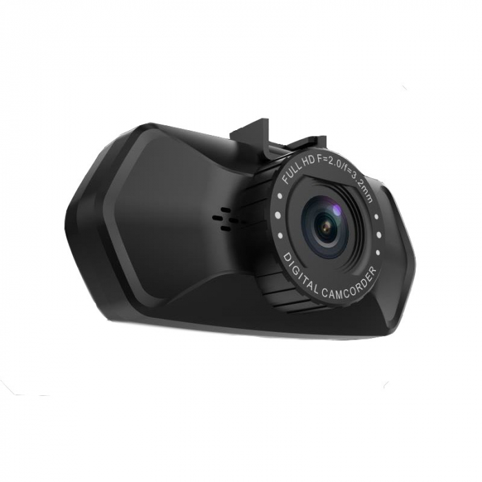 "Camera Video Auto Dubla, Obiectiv 120° Superangular FullHD 1080p Techstar® RLDV 204, Ecran 2"" 7"