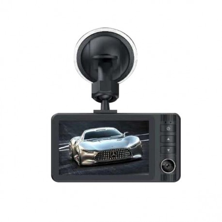 Camera Auto DVR RLDV-363 Techstar® FullHD 1080P 12 MPX DISPLAY IPS 3.2 INCH Lentila Dubla Interior/Exterior 1