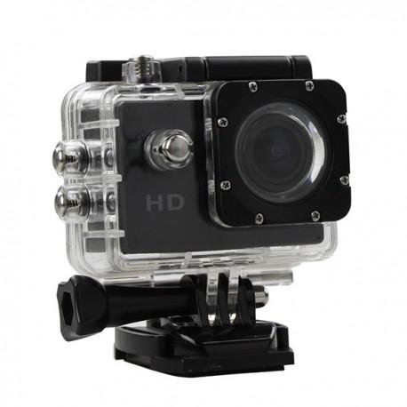 Camera Sport S5000 Ecran 2 Inch Subacvatica FullHD 1080P 12MPx Black EXSports 0