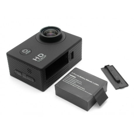 Camera Sport S5000 Ecran 2 Inch Subacvatica FullHD 1080P 12MPx Black EXSports 6