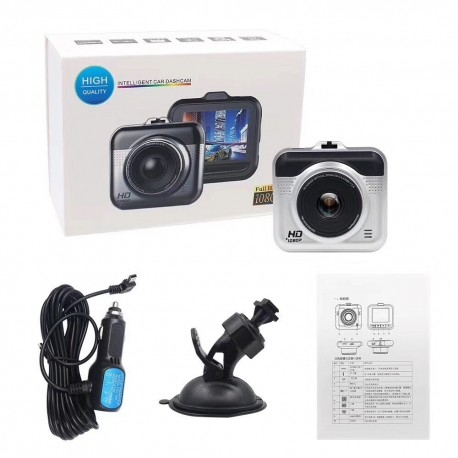 CAMERA VIDEO AUTO DVR TECHSTAR® CT203 FULLHD 1080P, DETECTIA MISCARII, G-SENSOR, USB 5