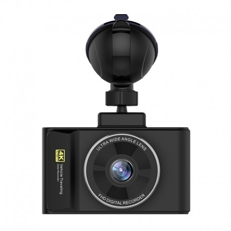"CAMERA VIDEO AUTO DVR TECHSTAR® H3 PRO ULTRA HD 4K, PROCESOR 96660, DISPLAY 3"" IPS, GPS LOGGER, WIFI ANDROID & IOS 6"