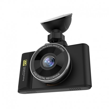 "CAMERA VIDEO AUTO DVR TECHSTAR® H3 PRO ULTRA HD 4K, PROCESOR 96660, DISPLAY 3"" IPS, GPS LOGGER, WIFI ANDROID & IOS 7"