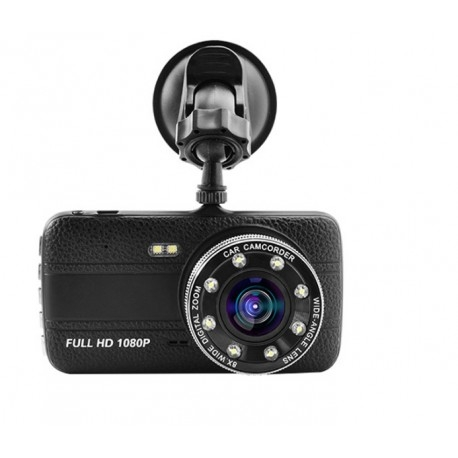 CAMERA VIDEO AUTO NOVATEK T800 DUBLA 8 LED-URI INFRAROSU FULL HD 3