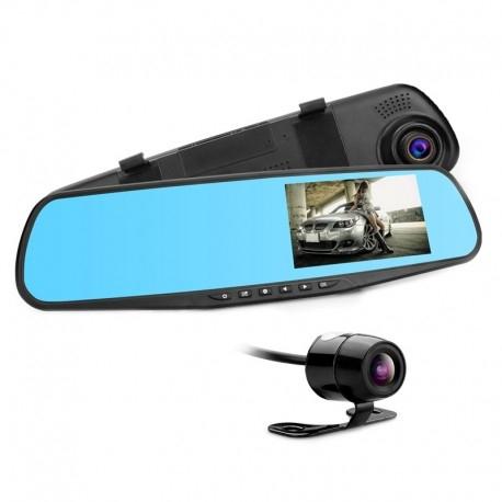 CAMERA VIDEO AUTO TIP OGLINDA CU DOUA CAMERE FULL HD FATA/SPATE ALLWINNER L9000 8
