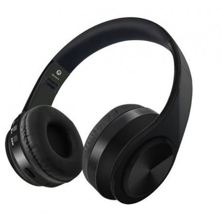 CASTI BLUETOOTH WIRELESS W802 NEGRU OVER EAR PLIABILE SPORT CU MICROFON INCORPORAT 0