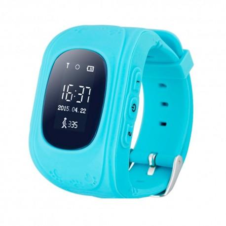 Ceas Smartwatch Pentru Copii Albastru Q50+ Slot Cartela SIM, GPS Tracker, Buton Urgenta SOS, Monitorizare Live 0