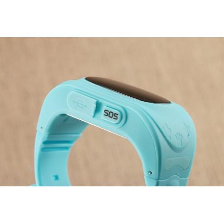 Ceas Smartwatch Pentru Copii Albastru Q50+ Slot Cartela SIM, GPS Tracker, Buton Urgenta SOS, Monitorizare Live 2