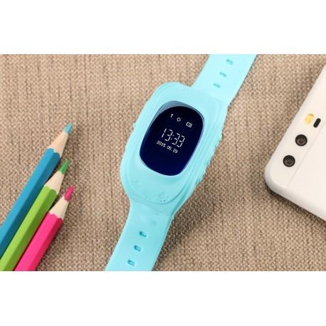 Ceas Smartwatch Pentru Copii Albastru Q50+ Slot Cartela SIM, GPS Tracker, Buton Urgenta SOS, Monitorizare Live 5