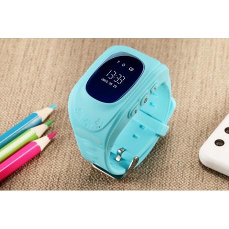 Ceas Smartwatch Pentru Copii Albastru Q50+ Slot Cartela SIM, GPS Tracker, Buton Urgenta SOS, Monitorizare Live 6