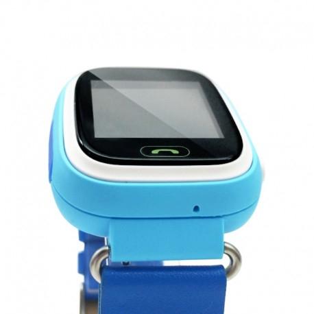 Ceas Smartwatch Pentru Copii Albastru Q90 Slot Cartela SIM, GPS Tracker, Buton Urgenta SOS, Monitorizare Live 1