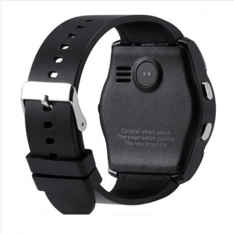 Ceas Smartwatch V8 Negru HandsFree Bluetooth 3.0 Micro SIM Android Camera 1.3MP 4
