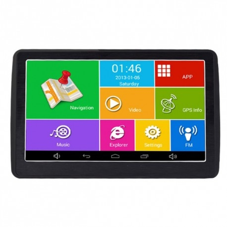 "GPS AUTO TECHSTAR M9X CU ANDROID TABLETA 512RAM WIFI DISPLAY 7"" HARTI  ACTUALIZATE 2"