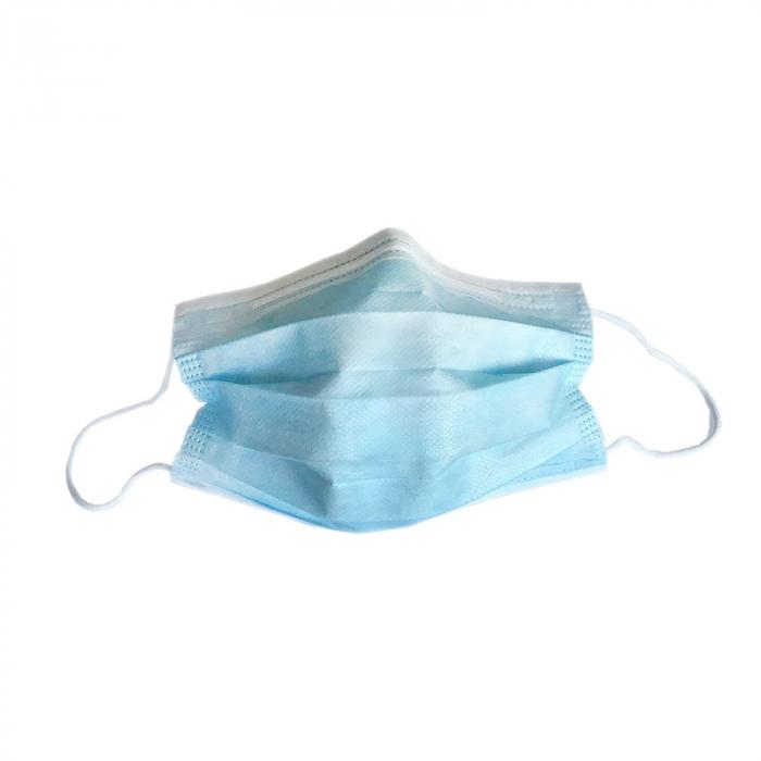 Masca medicala 3 straturi TYPE IIR banda metalica 50buc [1]