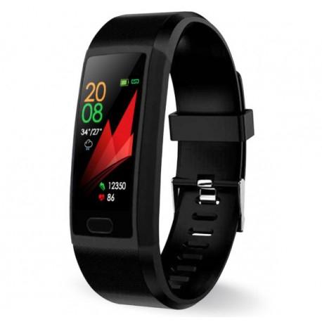 "Bratara Fitness Smartband Techstar® T12 Waterproof IP65, Bluetooth 4.2, Compatibila Android & IOS, Display TFT 1.14"", Negru 6"