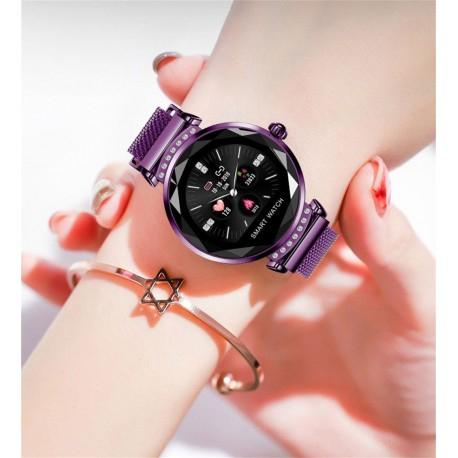 Smartwatch Fitness Sport Mov Elegant Pentru Dama H2 Cu Monitorizare Somn Si Cardiaca [4]