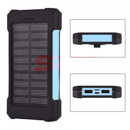 Baterie extern Powerbank cu incarcare solara 8000mAh1