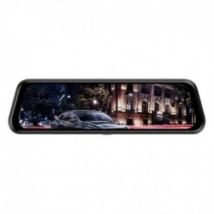 "CAMERA VIDEO AUTO TIP OGLINDA DUBLA, ANYTEK T12+, DISPLAY 9.66"" TOUCH SCREEN, NIGHT VISION, DASH CAM, DUAL LENS0"