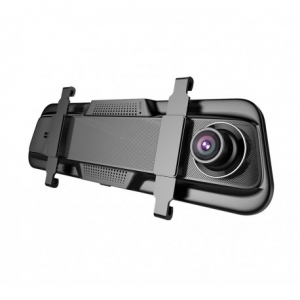"CAMERA VIDEO AUTO TIP OGLINDA DUBLA, ANYTEK T12+, DISPLAY 9.66"" TOUCH SCREEN, NIGHT VISION, DASH CAM, DUAL LENS4"