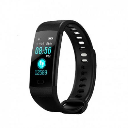 Bratara Smart Fitness Sport Y5 Negru Bluetooth 4.0 Waterproof Cu Monitorizare Somn, Cardiaca Si Pedometru5