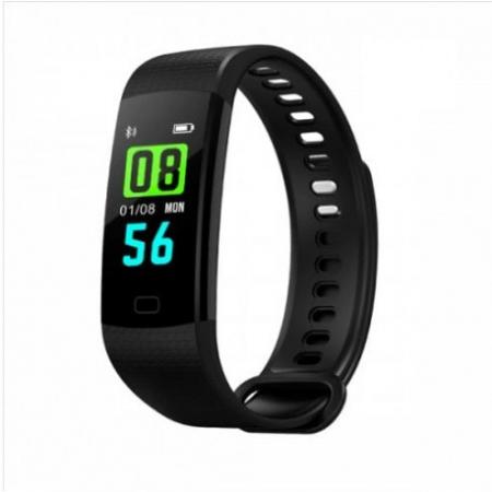 Bratara Smart Fitness Sport Y5 Negru Bluetooth 4.0 Waterproof Cu Monitorizare Somn, Cardiaca Si Pedometru4
