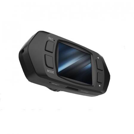 "Camera Video Auto Dubla, Obiectiv 120° Superangular FullHD 1080p Techstar® RLDV 204, Ecran 2""3"