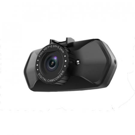 "Camera Video Auto Dubla, Obiectiv 120° Superangular FullHD 1080p Techstar® RLDV 204, Ecran 2""6"